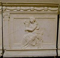 Museo di san matteo, andrea guardi virtù 02 fortezza.JPG