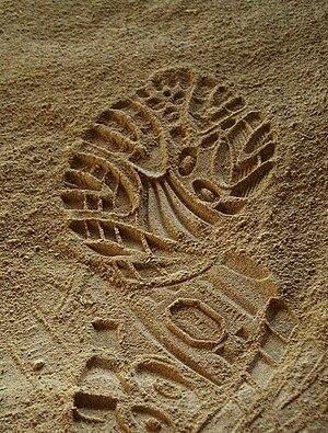 Footprint in send - angled