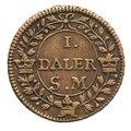 Nödmynt, 1718 - Skoklosters slott - 109370.tif