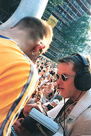 Liveact N-SON-X auf dem Franconia Love Truck (1996)