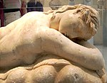 NAMA - Statue of a sleeping Maenad 02.JPG