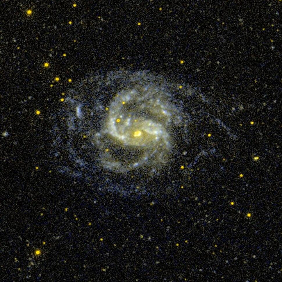 NGC 1672 GALEX WikiSky