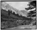 NHP, general view to southeast. - Nunn Hydroelectric Plant, On Madison River, Ennis, Madison County, MT HAER MONT,29-ENNIS.V,1-2.tif