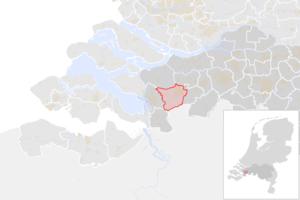 NL - locator map municipality code GM1674 (2016).png