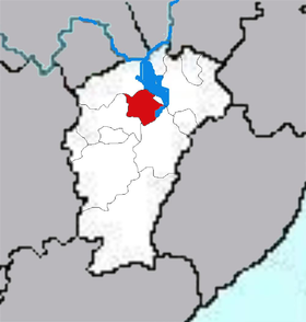Localisation de Nánchāng shì