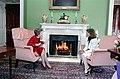 Nancy Reagan having tea with Mila Mulroney.jpg