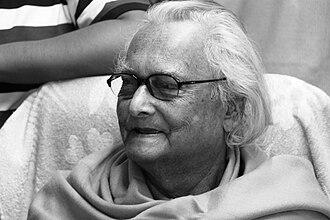 Narayan Debnath - Narayan Debnath in his study.