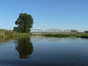 Narew National Park - Narew River at Uhowo, Poland