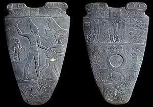Narrative art - The two sides of the Narmer Palette