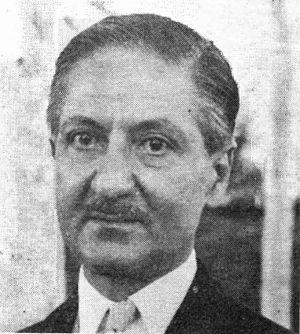 Nasrollah Entezam - Nasrollah Entezam in 1950