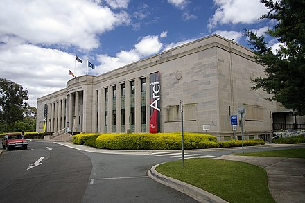 The National Film and Sound Archive in Canberra. National Film and Sound Archive viewed near McCoy Circuit.jpg