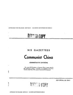 Wade–Giles Romanization scheme for Mandarin Chinese
