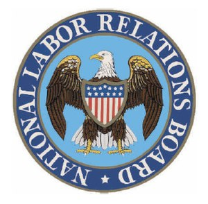 National Labor Relations Board - Image: National Labor Relations Board logo color