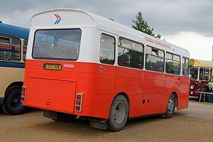 National Welsh Omnibus Services - Preserved National Welsh/Cymru Cenedlaethol bus in Bristol.