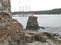 Natural rock formation in Bar Harbor, Maine.jpg