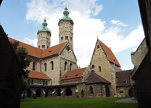Naumburger Dom Osttürme von SW