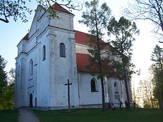 Adam Mickiewicz - Church of the Transfiguration of Jesus, in Navahrudak, where Mickiewicz was baptized