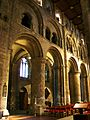 Nave, looking south west, Selby.JPG