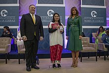 Naw K'nyaw Paw From Burma Receives Her 2019 IWOC Award (47310453991).jpg