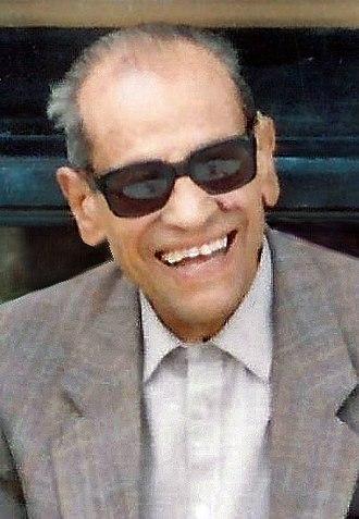 Naguib Mahfouz - Image: Necip Mahfuz