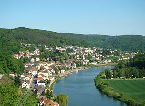 Neckarsteinach - View from the Hinterburg