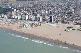 Necochea City in Buenos Aires, Argentina