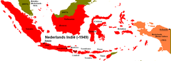 Ligging of Nederlands-Indië