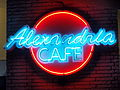 Neon Sign Alexandria Cafe Tennessee 10072011.JPG