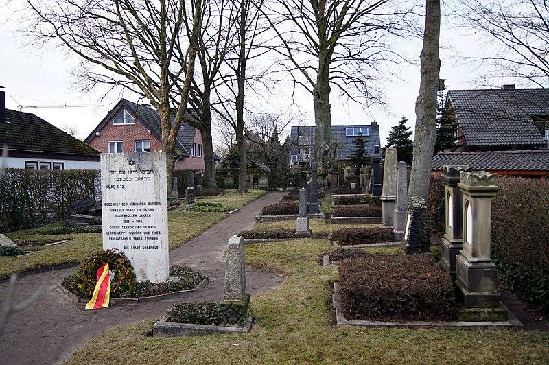 Datei:Neuer jüdischer Friedhof (Coesfeld).jpg