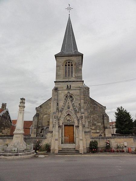 Neuville-sur-Ornain (Meuse) église