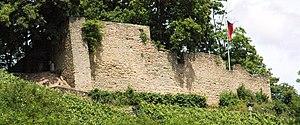 Wolfstein, Rhineland-Palatinate - Neu-Wolfstein castle ruin (monumental zone)