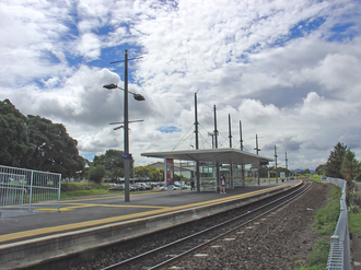 Papatoetoe railway station - Papatoetoe Train Station