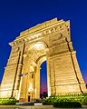 New Delhi Gateway of India at Blue Hour, India.jpg