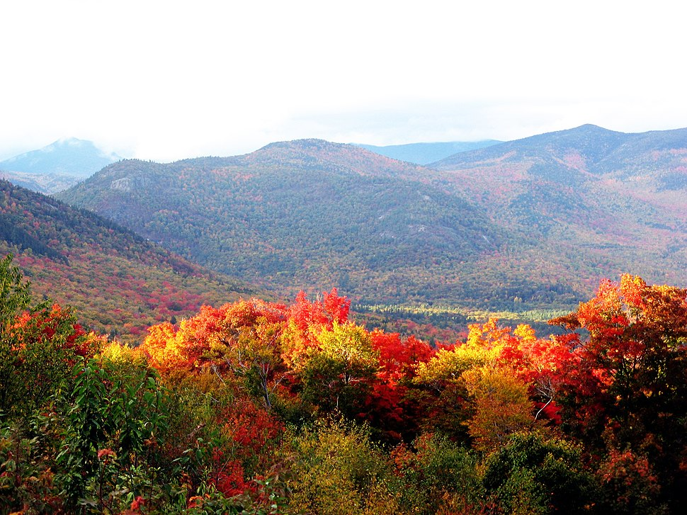New hampshire in autumn