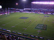 EnergyAustralia Stadium in Newcastle is the homeground of the Newcastle Knights