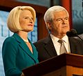 Newt and Callista Gingrich 2012 RNC (7898358692) (cropped).jpg