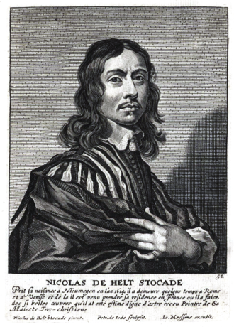 Nicolaes de Helt Stockade - Nicolaes de Helt Stockade in Het Gulden Cabinet.