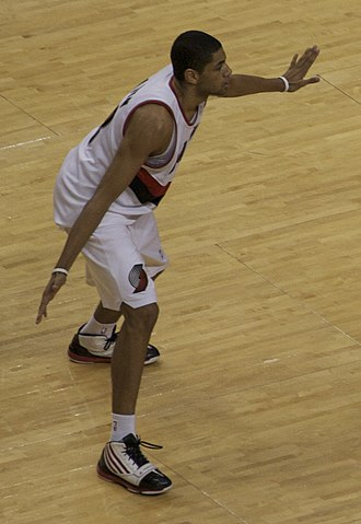 Nicolas Batum - Batum with the Portland Trail Blazers in 2011.