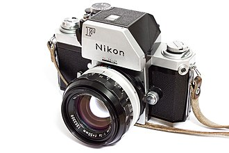 Nikon F - Nikon's Photomic FTn camera and finder