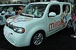 Nissan Cube Mirai Suenaga itasha at Anime Expo 20120629.jpg