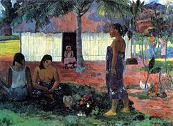 Paul Gauguin: Why Are You Angry? (No Te Aha Oe Riri)