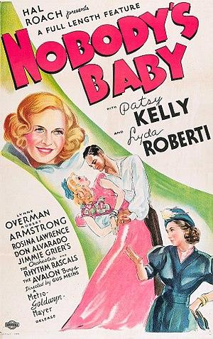 Nobody's Baby (1937 film) - Film poster