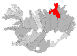 Location of the Municipality of Norðurþing