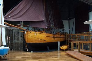 Norfolk (sloop) - A replica of Norfolk
