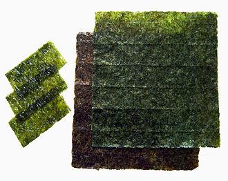 Edible seaweed - Image: Nori