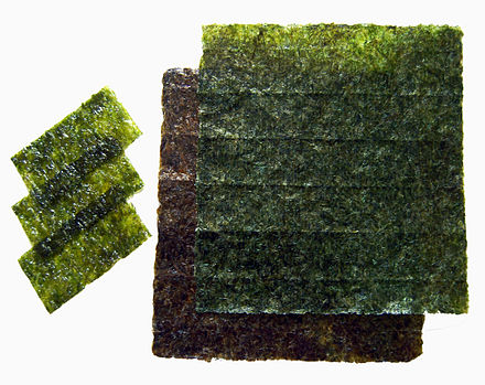 Sheets of nori. Nori.jpg
