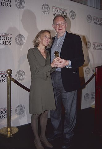 Brian Lapping - Brian Lapping and Norma Percy at the 59th Annual Peabody Awards