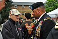 Normandy beach survivor speaks with local Army Reserve general 130527-A-ZO892-228.jpg