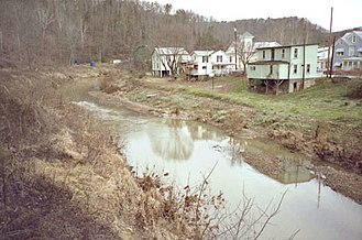 Cairo, West Virginia - The North Fork of the Hughes River at Cairo