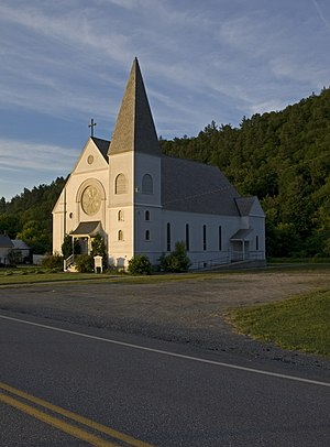 Pownal, Vermont - Church of Our Lady of Lourdes, North Pownal